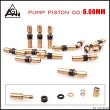 Pcp pump 6.0mm DO 3-stage Piston Parts For 30MPA 2PCS/LOT 300bar/4500psi Third Stage Replacement Kit
