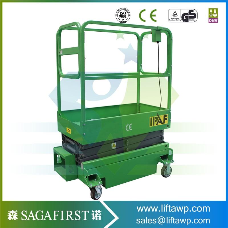 High Quliaty 6m To 12m Self Driven Scissor Lift Platform Working Lifter