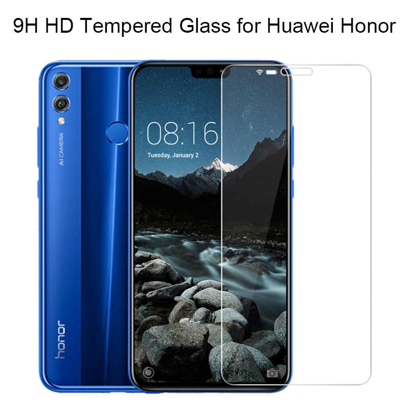 Phone Screen Protector Film Glass for Honor 4X 6X 7X 8 X Protective Glass Honor 8X Tempered Glass for Huawei Honor Play 5X 7S 8C