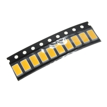 Electronic 10pcs Warm White LED SMD SMT Light COB Chips RGB Ultra Bright 5630 10mA EL Products DIY Home Garden decoration