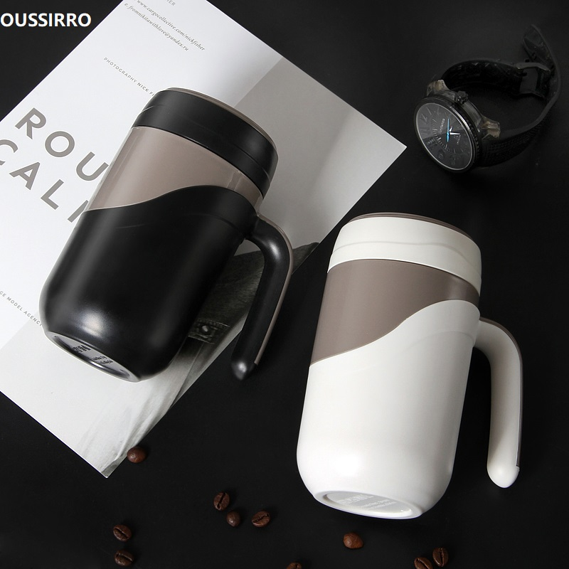 OUSSIRRO Fashion High Quality Ceramic Cup Luxury Mugs Creative Large Capacity Milk Couple Present Coffee