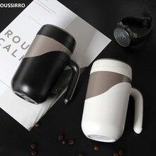 OUSSIRRO Fashion High Quality Ceramic Cup Luxury Mugs Creative Large Capacity Milk Couple Present Coffee