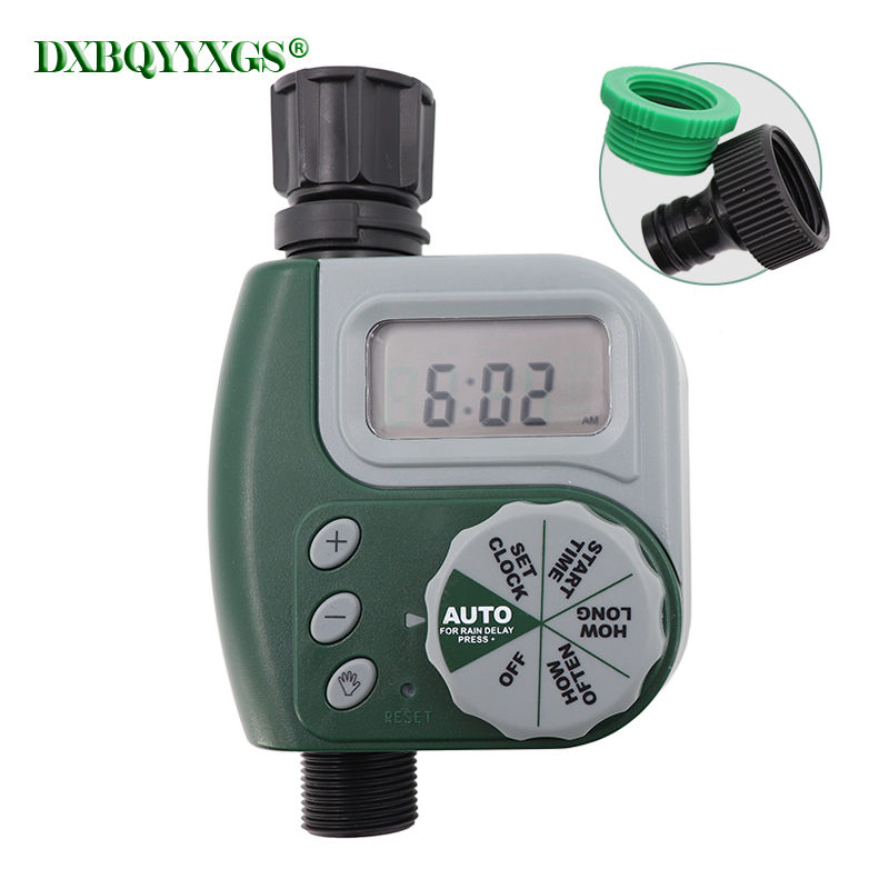Automatic Electronic LCD Garden Water Timers Home Drip irrigation Lawn sprinkler Timing Quantitative Watering flowers Irrigation|Garden Water Timers| |  - title=