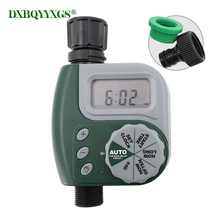 Automatic Electronic LCD Garden Water Timers Home Drip irrigation Lawn sprinkler Timing Quantitative Watering flowers Irrigation 2 timers
