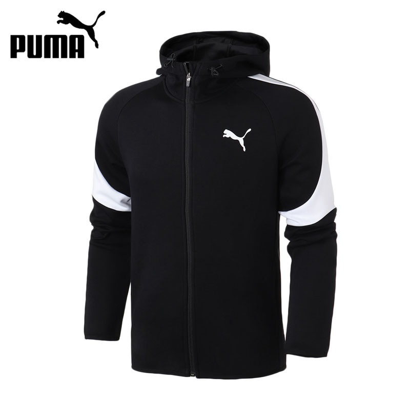 Original New Arrival 2018 PUMA Evostripe Core FZ Hoody Men's jacket Hooded Sportswear original new arrival 2017 puma evostripe ultimate fz hoody men s jacket hooded sportswear