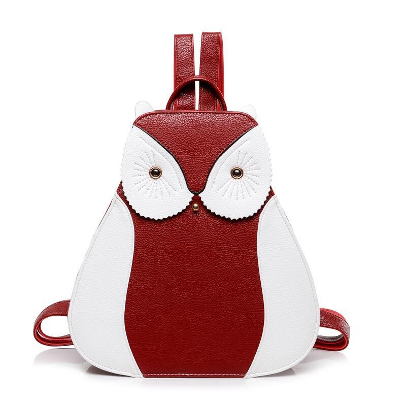 Women Lady Girl PU Leather School Shoulder Bags Backpack Satchel Travel Rucksack Two colors sweet fashion style female bag рюкзак girl pu yt00172334