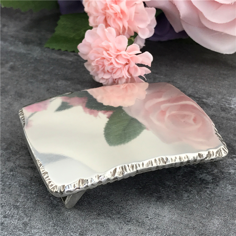 Top Luxury Alloy Mirror Belt Buckles For Men DIY Accessories Buckle For Belt Boucle Ceinture Riem Gesp Belt Buckle AK0024