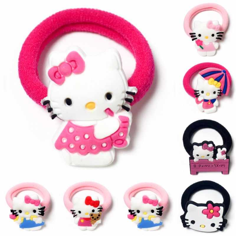 1pcs Elastic Rubber Band children Headband Kids Hair Accessories Girl Hair Band Hair Gum Hair clip