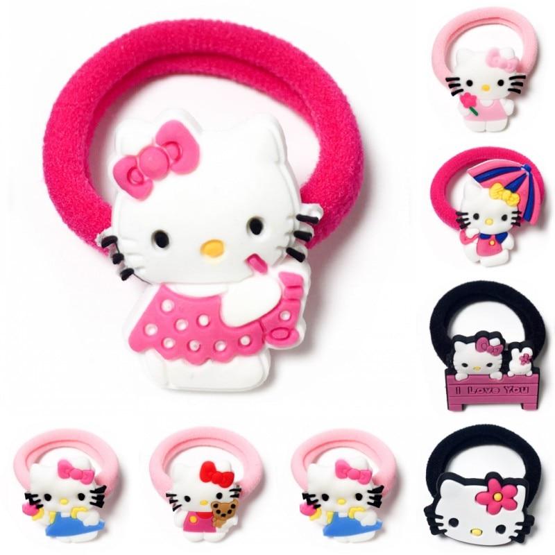 1pcs Elastic Rubber Band children Headband Kids Hair Accessories Girl Hair Band Hair Gum Hair clip