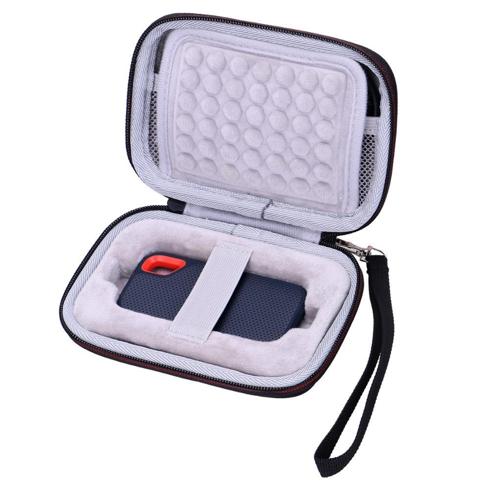 LTGEM EVA étanche antichoc étui de transport pour Sandisk extrême 250GB Portable SSD