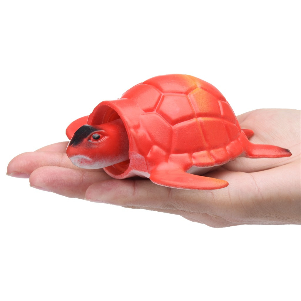 Turtle Pop Out Head if Squeeze 13cm Stress Ball (3 Colors) 7