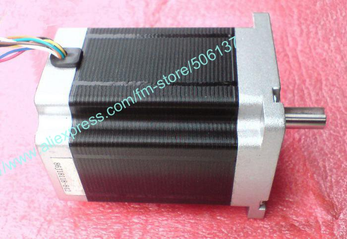 86 step motor 86j18118-842, 4-Lead/8-lead stepper motor,1.8Degre stepping motor, 118mm in length / holding torque 83.3kg.cm 0 9 step degree nema14 round stepper motor with 8 8n cm 12oz in length 20mm ce cnc step motor