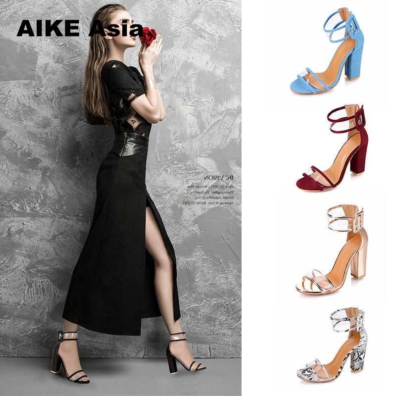 2019 Women Pumps Sexy High Heels Shoes Ladies Lace Up Point Toe Party Wedding Pump Black Woman 34-43 Chaussures Femme  Peep Toe