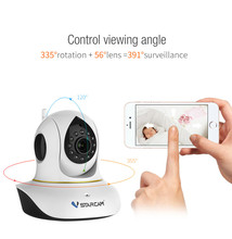 цена на Vstarcam C38S FHD 1080P Wireless Wi-fi Home Security Digital ONVIF IP Camera Wifi P2P IR-Cut Hemispherical H.264 CCTV IP Camera
