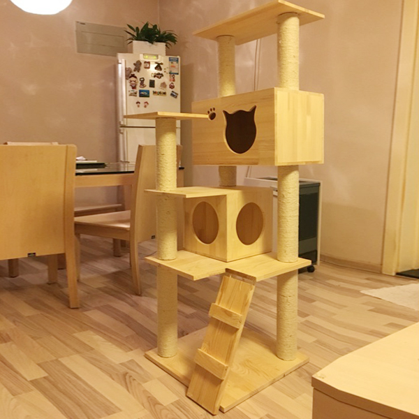 Popular tree house furniture buy cheap tree house - Sofas para gatos ...