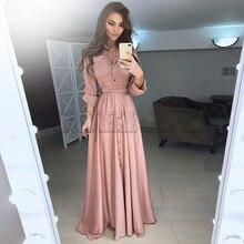 цена Cuerly Plus Size 5XL Dress Women Spring Summer Fashion Boho Casual Women Dress Long Sleeve Button Beach Maxi Dresses Vestidos L8