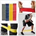 Resistanceexercise Yoga stretch bands gym workout elastic NEW
