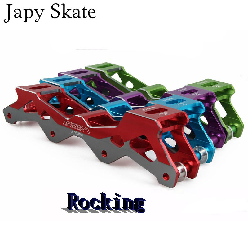Prix pour Jus japy Skate Berçante SEBA V Cadres Inline Patins Rockered Base Rockering Bassin 207 219 231 243mm Rouleau De Patinage Patines Adulto