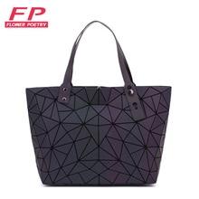 2019 New Luminous Bao Bag Women Bags Geometric Luxury