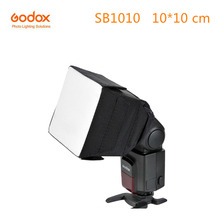 Godox SB1010 Softbox Flash Portátil Universal 10*10 cm Estúdio Dobrável Praça Difusor para Flash Speedlite Nikon Canon Sony