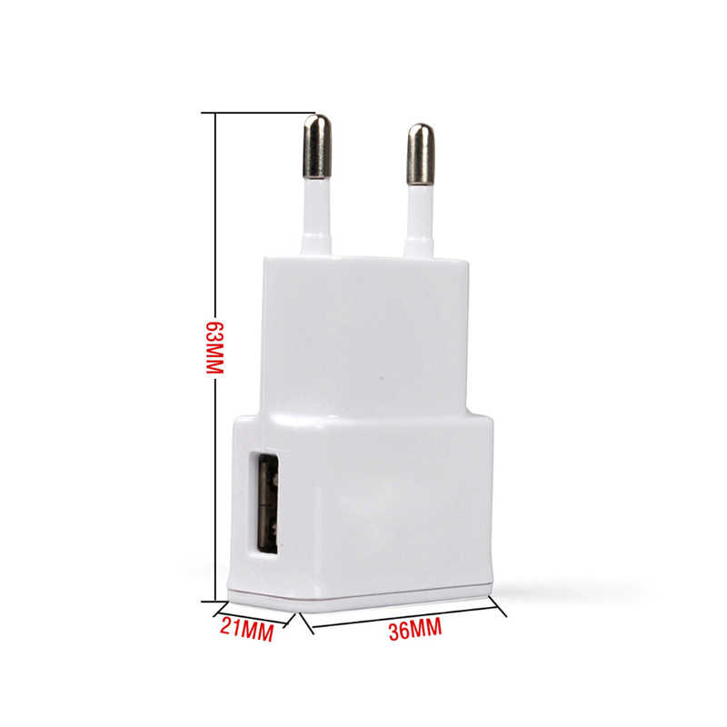 Duvar USB şarj cihazı 1 USB ab tak Samsung için iphone cep telefonu şarj güç adaptörü mikro şarj cihazı seyahat için evrensel