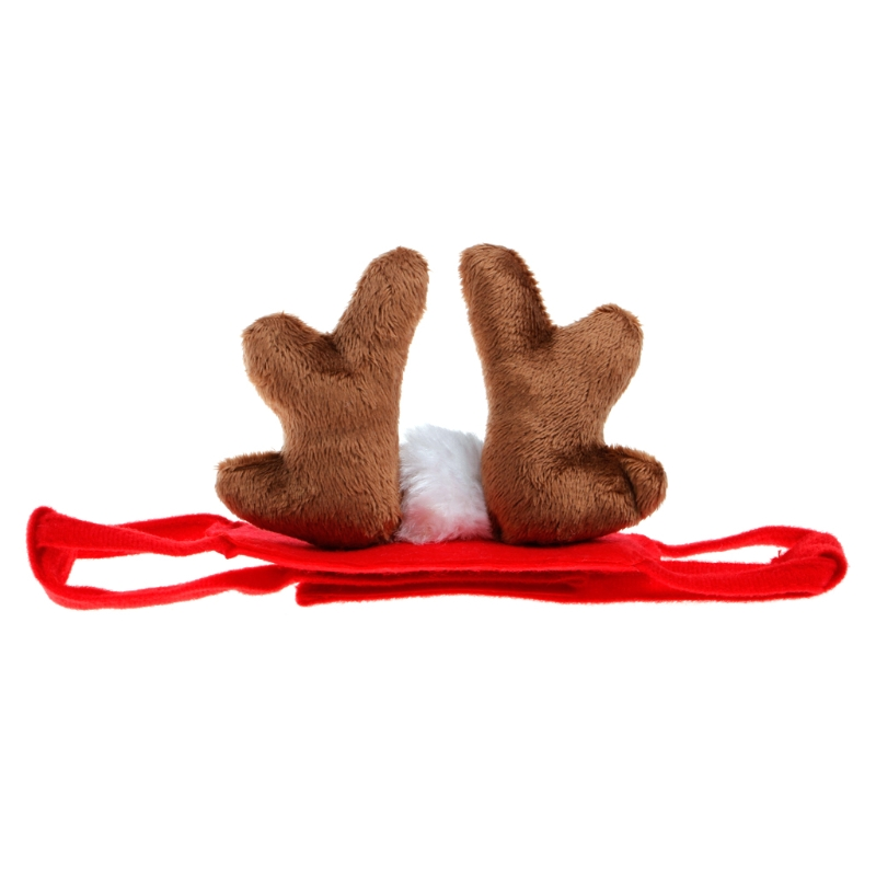 Pet Dog Puppy Cat For Puppy Teddy Animal Shapeshift Christmas Reindeer Costume