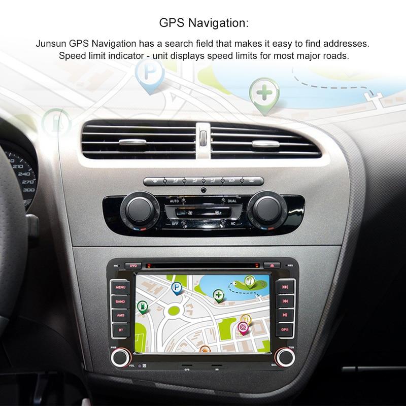 Wholesale Junsun 2 Din 7 Car Dvd Multimedia Player Gps Navigation