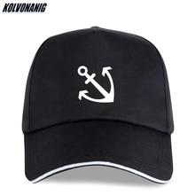 KOLVONANIG Anchor Printed Baseball Caps Maritime Original Fitted Cap Cotton Hip Hop Adjustable Snapback Sun Hats for Men Women