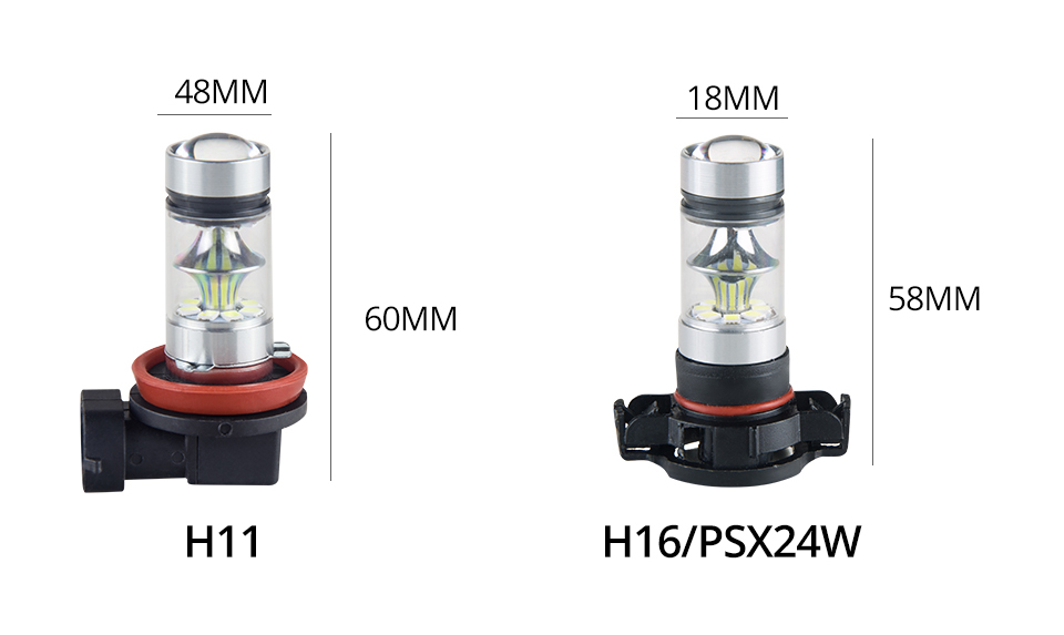 S&D MeeToo H7 H1 Led Fog Light H11 LED Car Bulbs HB3 9005 HB4 9006 SMD 2030 Auto Led Bulb Lamp 6500K Fog Lights Cars Driving Lamps (13)