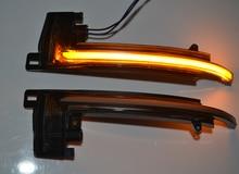แบบไดนามิกBlinkerกระจกสำหรับAudi A6 C6 4F A4 A5 B8 Q3 SQ3 A3 8P S4 S5 S6 ด้านข้างไฟเลี้ยวLED A8 D3 8K