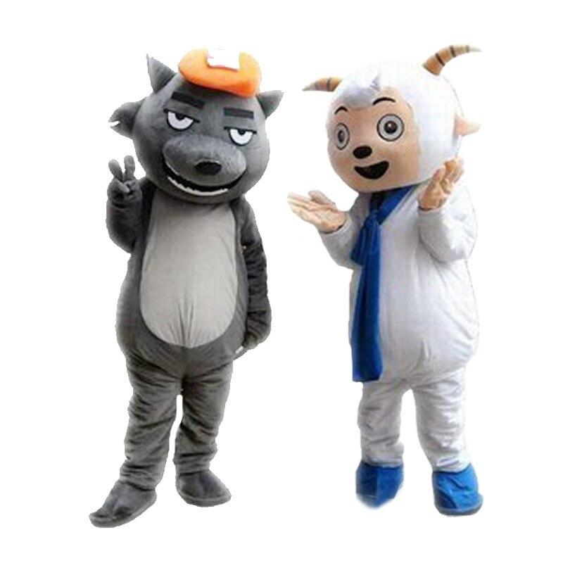 Mouton mascotte Costume costumes Cosplay partie jeu robe tenues vêtements publicité carnaval Halloween noël pâques Festival adultes - 5