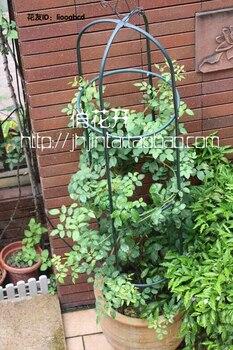 Climbing frame, wrought iron cylinder flower iron flower stents clematis vine month cylindrical florist  4l60e servo pin shim