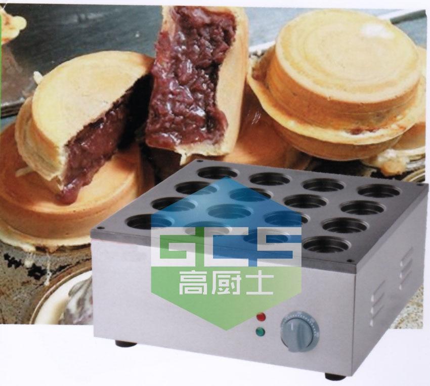 Free shipping Gas type 16 hole Layer cake machine red bean cake maker Hamburg maker