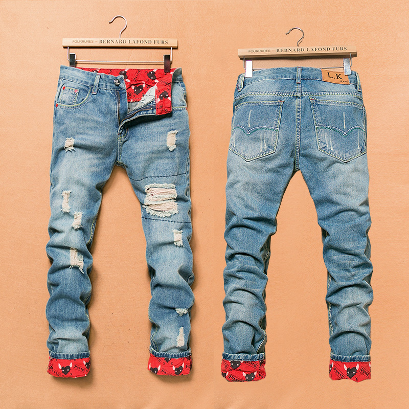 Aliexpress.com : Buy 2015 Mens Overalls Fashion Slim Skinny Jeans ...