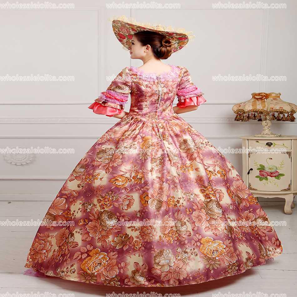 Party Gothic Lolita Kleid Rokoko Kleid Viktorianischen Prinzessin ...