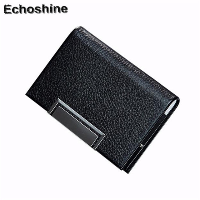 cafb319f112 2016 hot sale professional Women Men Credit Card Package Card Holder  Business Card Case high quality