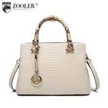 Новый продукт продаж Zooler фирменные элегантные теплые сумки узор сумки ручка сверху натуральная кожа женщины сумку bolsas tote # F102