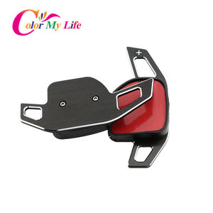 Image 3 - Kleur Mijn Leven Auto Stuurwiel Dsg Paddle Uitbreiding Shifter Shift Sticker Voor Seat Alhambra /Ateca /Leon Fr/Leon /Leon 4 5F