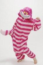 Autumn Winter Fleece Pyjamas Onesies Women Men Unisex Cartoon Cosplay Sleepwear Pijamas Adult Onesie Chesire Cat Pajamas pink unicorn cartoon animal onesies pajamas costume cosplay pyjamas adult onesies party dress halloween pijamas