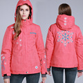Snowboard Jacket Women Windproof Waterproof Ski Jacket Breathable Snow Sportswear Ski Clothing Warm