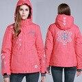 Snowboard Jacket Women Windproof Waterproof Ski Jacket Breathable Snow Sportswear Ski Clothing Warm