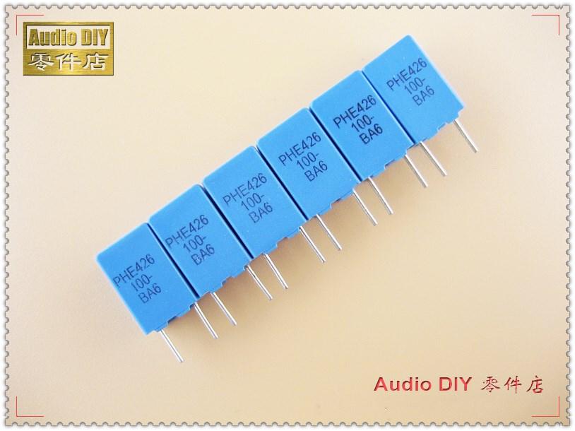 20Pcs 0.1UF X2 104 100NF 275V 10mm Regulation DIP Polypropylene Film Capacitor H