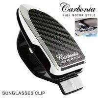 Carbonia Sonnenbrille Clip Autogläser Clamp Clip die gläser, notizen, karten zusammen sonnenblende Clip 2,99x1,18 zoll