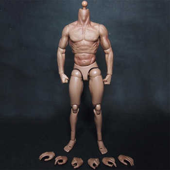 """1/6 scale male man body figure military chest muscular body similar to TTM19 for wolverine 12\"""" soldiers action figure toys"""