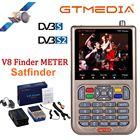 GTMEDIA V8 Finder Meter Satellite Finder HD Digital Satfinder Support DVB S DVB S2 S2X Network Extension 3.5