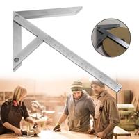 Center Gauge Round Bar Mark Finder Tool 6'' Precision Centering Square Gaging Carbon Steel Chrome Plated Laser Engrave 25cm