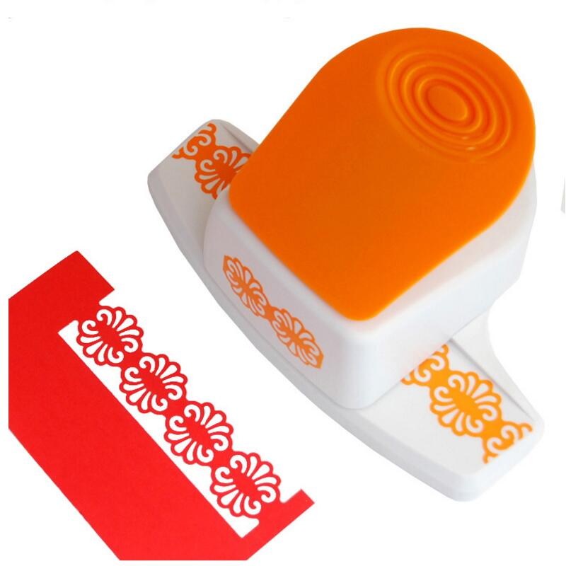 Large three-dimensional Fancy border embossing punch scrapbooking handmade edge device DIY foam paper cutter Craft gift YH10