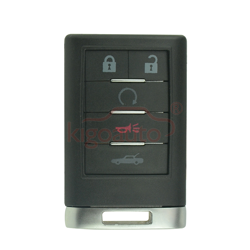 Smart key case 5 button for Chevrolet Corvette 2008 2009 ...
