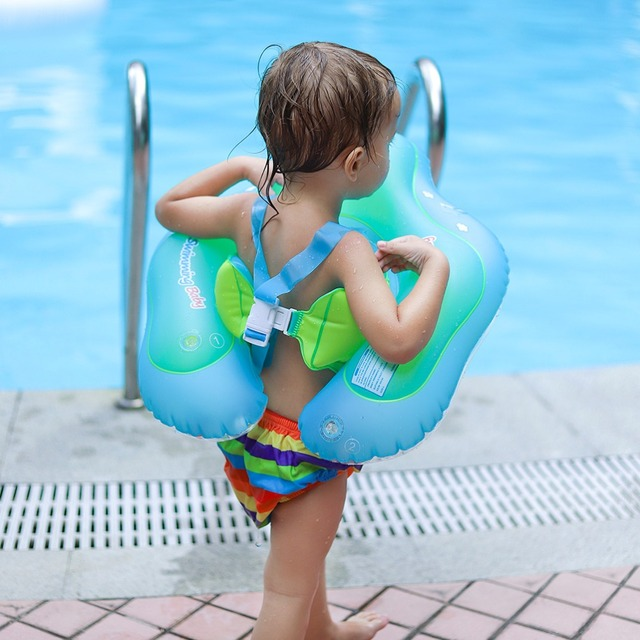 Baby Swimming Ring Inflatable Infant Floating Kids Float Swim Pool Accessories Circle Bath Inflatable Ring Toy For Dropship 2