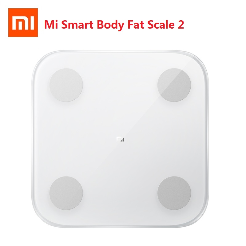 2019 Xiaomi Mi Smart Fat 2 Bluetooth 5.0 APP Monitor Hidden LED Display Balance Test